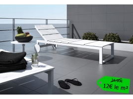 Carrelage terrasse exterieur gris rectangle 30x60
