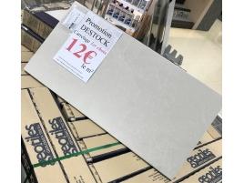 Carrelage terrasse exterieur blanc rectangle 30x60