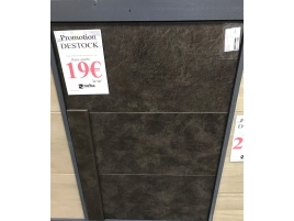 Carrelage marron 30x60cm