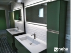 """Réalisation d'une salle de bain """"miroir"""""""