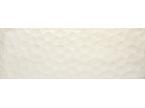 Faience beige crème décor nid d'abeille mat 90x31.6cm