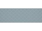 Faience coloré motif losange turquoise 100x35cm