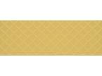 Faience coloré motif losange jaune moutarde 100x35cm