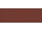 Faience coloré motif losange rouge 100x35cm