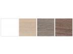 Coloris disponibles sur l'ensemble meuble + miroir personnalisable EXPRESS