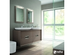 Meuble 2 tiroirs + miroir gamme Colombus