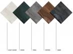 Carrelage sol intérieur coloris métallique