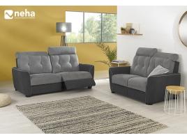 Canapé bi-color personnalisable