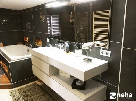 Réalisation salle de bain cocooning