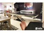 Table extensible en céramique 220cm à 410cm