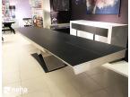 Table salle à manger bois massif et céramique grande dimension