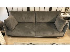 Canapé 3 places gris