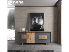 Enfilade collection mélange moderne bois