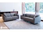 Canapé en tissu gris modèle Baltia relax marque FAMA Sofas