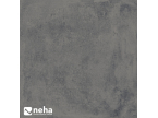 Carrelage effet béton gris foncé nuancé