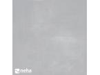 Carrelage effet béton poli brillant gris