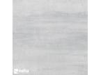 Carrelage gris clair platine aspect oxydé