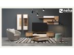 Composition télé pour salon moderne et design