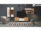 Salon style architect design laque et bois