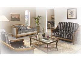 Canapé ancien stylisé