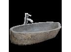 Vasque pierre de rivière