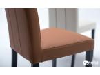 Chaise elegance cuir haut dossier
