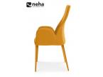 Chaise dossier design avec ou sans accoudoir