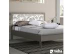 Tête de lit florale