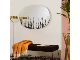 Miroir effet peinture