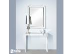 Meuble d'entrée en miroir