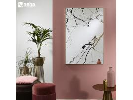 Miroir effet marbre