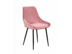 Chaise tissu velours