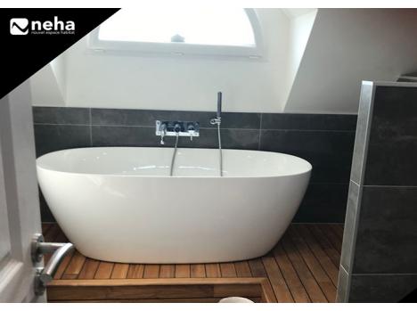 Réalisation SDB douche + baignoire