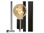 Lampadaire métal anthracite