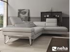 Canapé fixe piètement métal