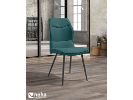 Chaise tissu coloré
