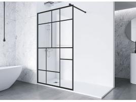 Paroi de douche fixe verre transparent