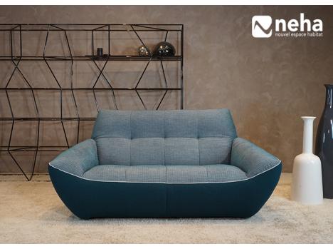Canapé tissu 3D
