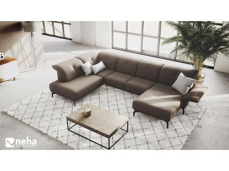 Canapé Bermude tissu ou cuir