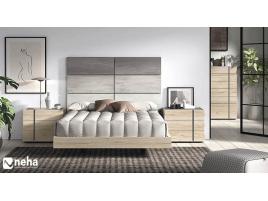 Tête de lit avec son cadre New-K