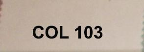 Couleur 103 blanc