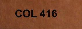 Couleur 416 marron clair