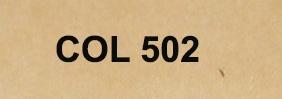 Couleur 502 beige