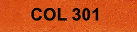 Couleur 301 orange