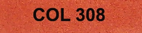 Couleur 308 brique