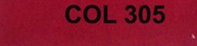 Couleur 305 rouge