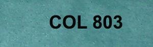 Couleur 803 bleu/vert