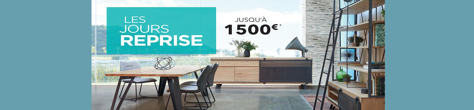 Reprise de votre ancien mobilier jusqu'à 1500€