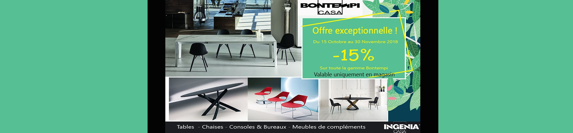 Promotion Bontempi Casa