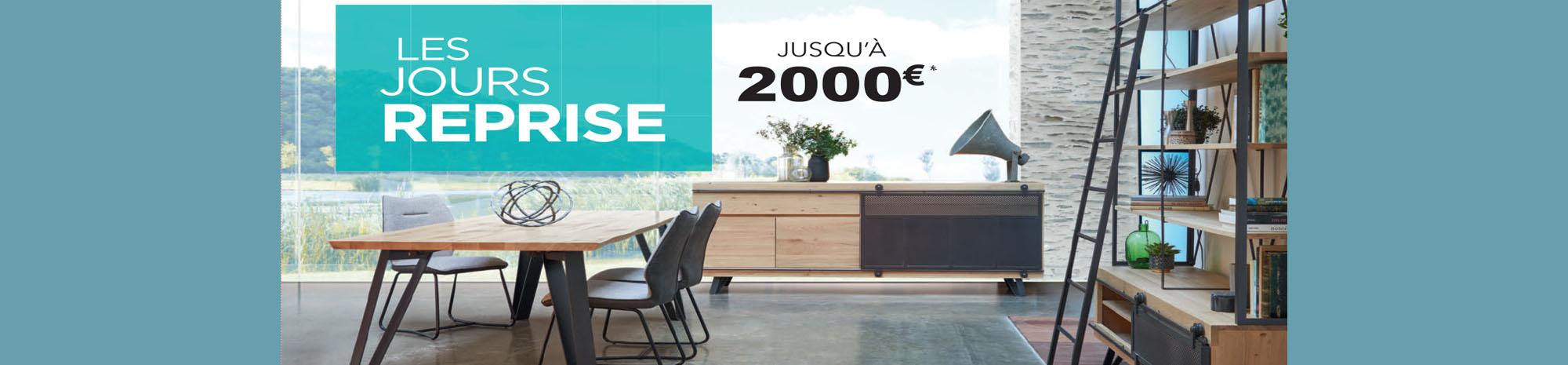 Reprise meuble jusqu'à 2000€